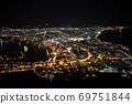 Night view of Hakodate city from Mt. Hakodate 69751844