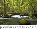 오이 라세 계류 햇살 계류 세 난류의 흐름 69752315