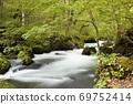 Oirase Stream Flow of Asura 69752414
