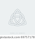 sacred geometry triquetra 69757178