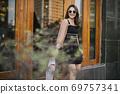 Shopping girl 69757341