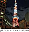 夏季东京塔 69761456