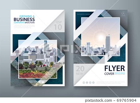 傳單,年度報告,書籍封面。公司宣傳冊 69765904