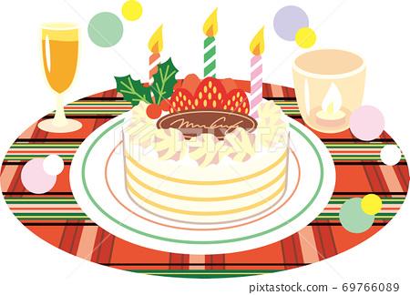 Christmas cake 69766089
