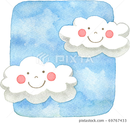 雲(帶臉) 69767433