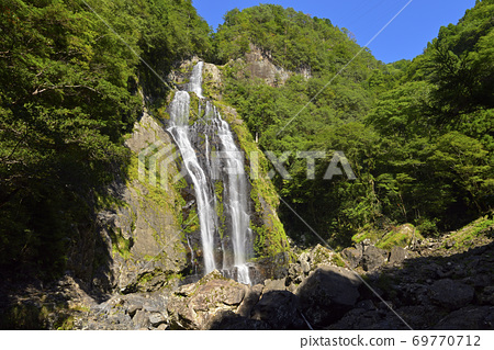 치히로 폭포 (나라현 요시노 군 가미 키타 야마 촌) 69770712