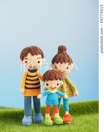 Amigurumi娃娃家族 69774915