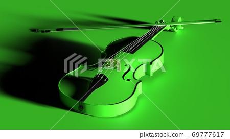 綠色小提琴 69777617