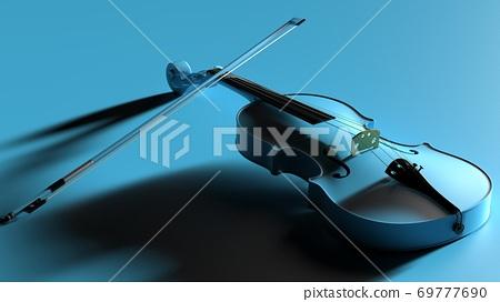 스카이 블루 바이올린 69777690