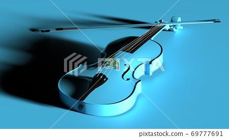 天藍色小提琴 69777691