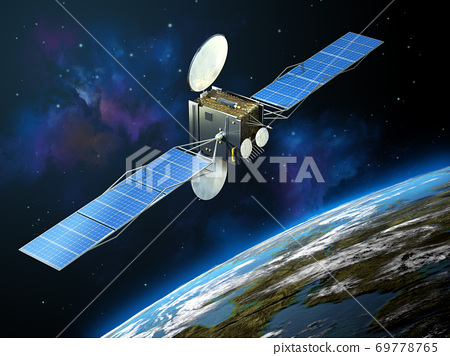 Communication satellite 69778765