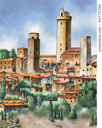 San Gimignano 69778766