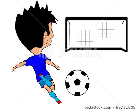 스포츠 시리즈 : 축구 무인 골에!ごちゃん입니다 69781909