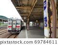 朗姆本線列車停在北海道朗姆站 69784611