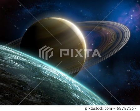 Ring planet 69787557