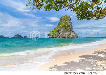 Railay Beach in Krabi province, Thailand. 69797000