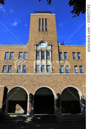 北海道大学农学部主楼 69805742