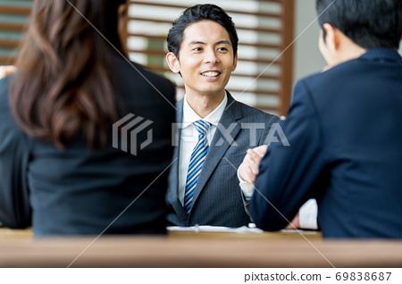 開會的商人 69838687