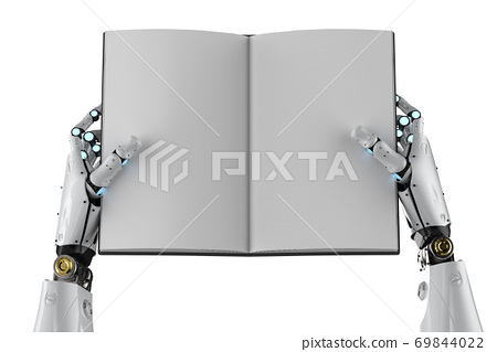 cyborg hold blank pages book 69844022