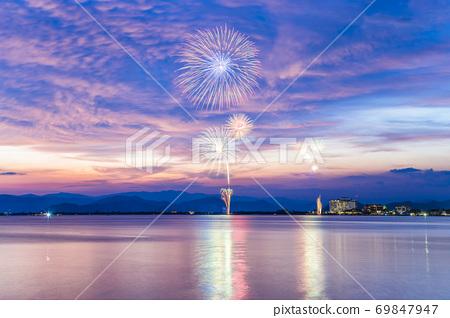 [시가현 나가 하마시] 나가 하마 · 북 비와코 큰 불꽃 놀이 69847947