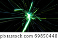 Light looming light green radial neon glitter digital 69850448