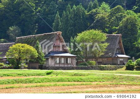 Gokayama Gifu Gassho-zukuri 69864192