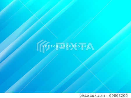 Abstract light blue diagonal background. 69868206