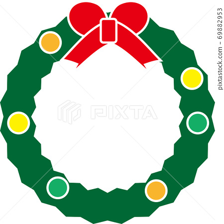 귀여운 크리스마스리스 69882953
