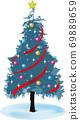 聖誕樹圖 69889659