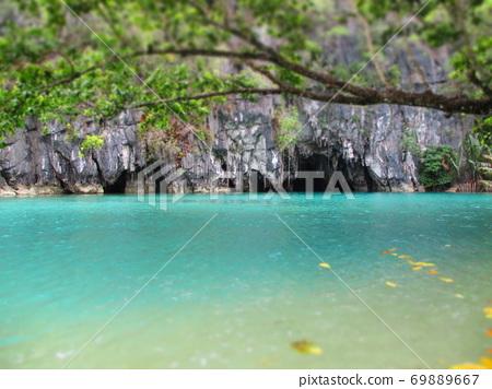 Philippines Puerto Princesa Underground River National Park Diorama Style 69889667