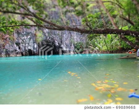 Philippines Puerto Princesa Underground River National Park Diorama Style 69889668
