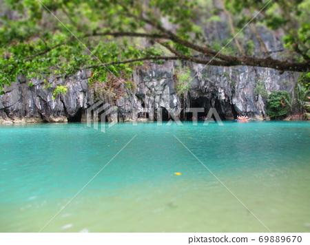 Philippines Puerto Princesa Underground River National Park Diorama Style 69889670