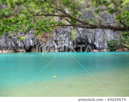 Philippines Puerto Princesa Underground River National Park Diorama Style 69889674