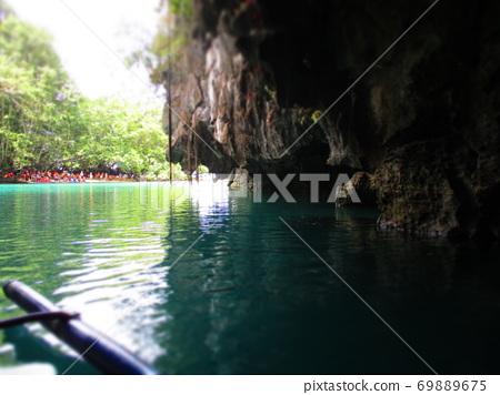 Philippines Puerto Princesa Underground River National Park Diorama Style 69889675