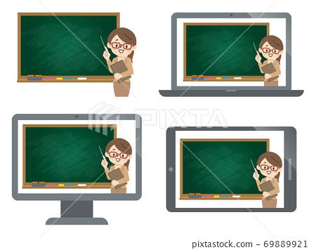 女老師在網上課 69889921