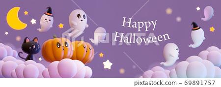 Halloween,Pumpkin,Retro,Cute,Fun,Smile,Happy,cloud 69891757