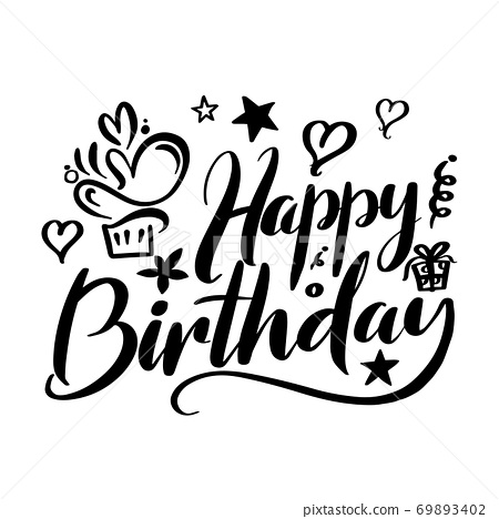 Happy Birthday 69893402