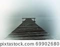 morning fog lake 69902680