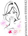 ◆時尚曲棍球系列:天然發◆ 69906482