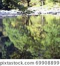 Water surface of Ashi no Mori 69908899