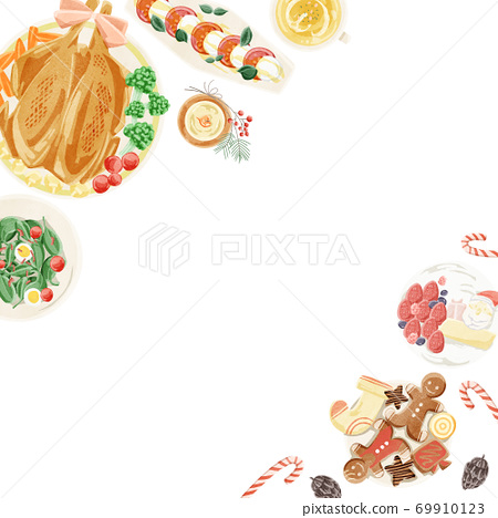 聖誕大餐框架圖 69910123