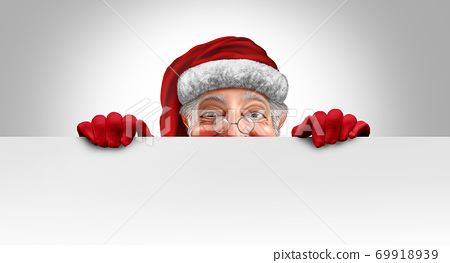 Santa Clause Banner 69918939