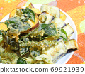 Vegetable tempura 69921939