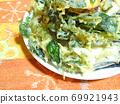 Vegetable tempura 69921943