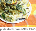 Vegetable tempura 69921945