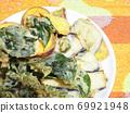 Vegetable tempura 69921948