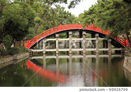 Sumiyoshi Taisha's Taiko Bridge 69926709
