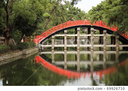 Sumiyoshi Taisha的太鼓橋 69926710