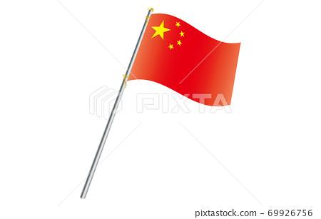 신세계의 국기 2 : 3Ver 그라데이션 파 폴 중화 인민 공화국 69926756