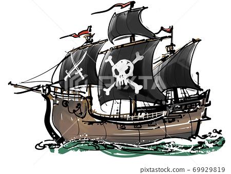 Sumie-海盜船 69929819